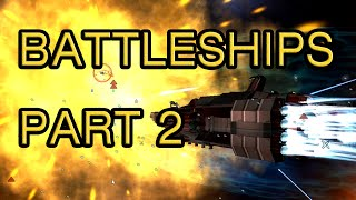 Kinetic Void - Building Battleships (Part 2)