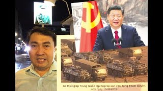 """Xua tàu chiếm đảo VN, đổ quân áp sát Hồng Kông – T.Cận Bình muốn lên ngôi """"Hoàng Đế đỏ""""?"""