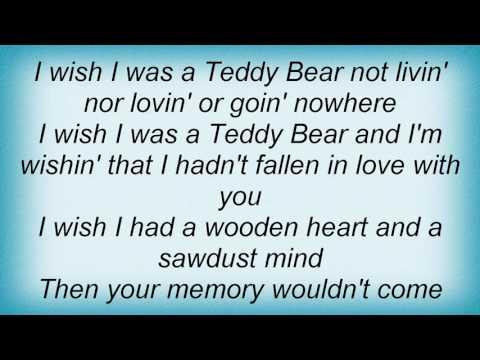 Tanya Tucker - Teddy Bear Song Lyrics