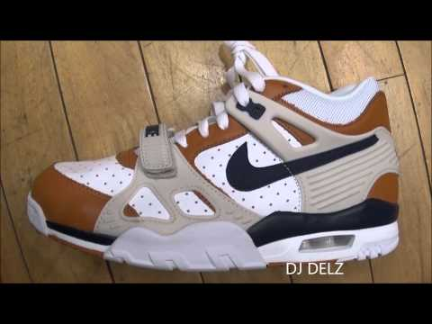 Nike Air Trainer 3 Medicine Ball Bo Jackson Do The Right Thing Sneaker Review With @DjDelz #HotorNot