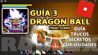 Dragon Ball Final Stand, Namek, Space, Gohan White Brother Jiren, Roblox Spanish Tutorial Guide 3
