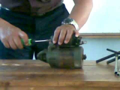 Tkr  Bongkar motor starter