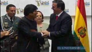 Evo Morales, huésped distinguido del DF