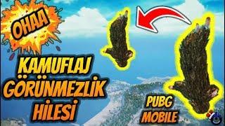OHAA ARTIK KAMUFLAJ GÖRÜNMEZLİK HİLESİ PUBG Mobile HİLE