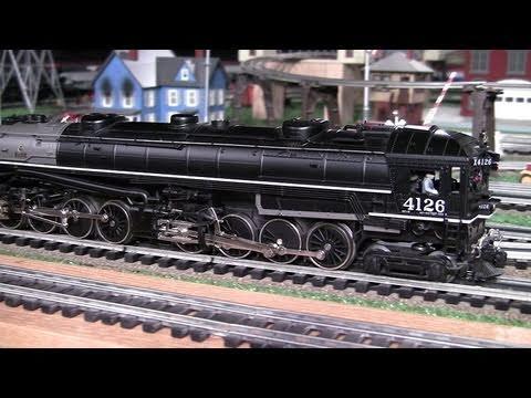 MTH Premier SP Cab Forward (4-8-8-2) (PS1) O-Gauge Steam Locomotive in True HD 1080p