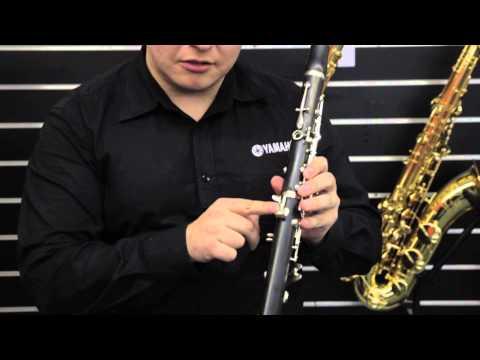 Yamaha YCL-255 Student Clarinet