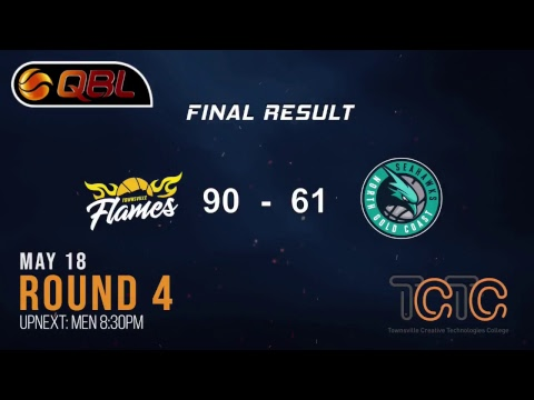 Townsville Vs. North Gold Coast QBL Round 4 - Womens
