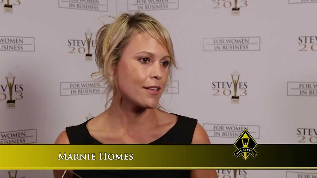 Marnie Homes Wins At The 2013 Stevie Awards For Women In