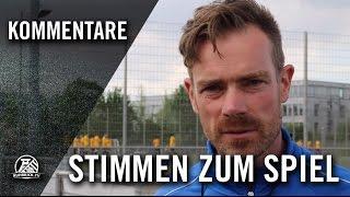 Die Stimmen zum Spiel (Ratingen 04/19 – DJK Klosterhardt, A-Junioren Niederrheinliga)