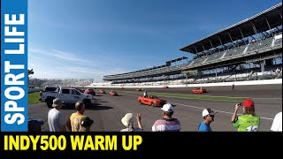 Indianapolis 500 [Part 3] warm up garages testing engines main trophy parade by Jarek Indiana USA