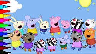 Peppa Pig Best Coloring Book Super Coloring Pages Compilations Kids Fun Art Activities Videos Youtube