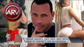 José Canseco empaña el compromiso de Jlo y A-Rod | Al Rojo Vivo | Telemundo