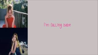 Falling Crazy In Love (English Version) - Jessica Jung / 제시카