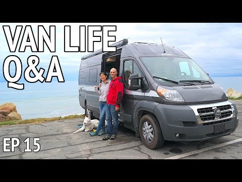 """Do You Shower in the Van?"" Q&A About Camper Van Life"