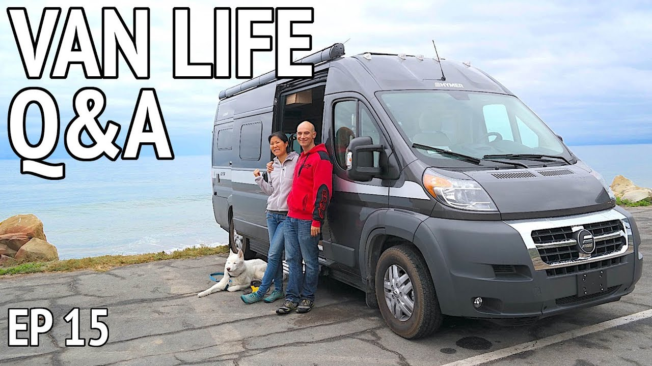 Do You Shower In The Van QA Camper Life