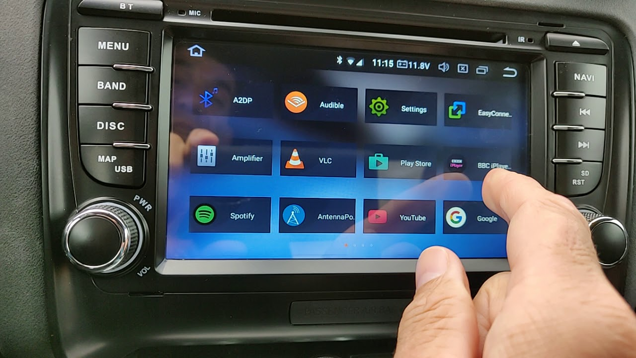 www majzel com: Xtrons PB78ATTIP Replacement Radio for Audi