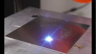 Repeat youtube video Portal's 'Still Alive' Played by Fiber Laser