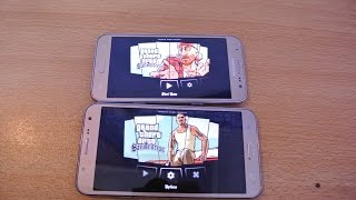 Samsung Galaxy J7 vs J5 - GTA San Andreas Gameplay Comparison!