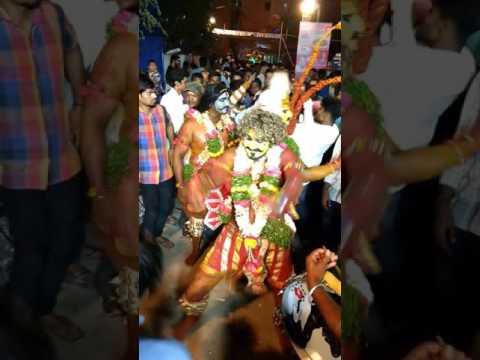 Sai potharaju at Rani Ganj Bharath bhai palaram bandi 2017