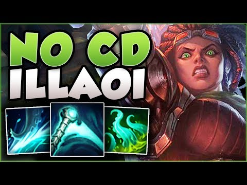 ESSENCE REAVER + ILLAOI = PERMA SLAM ILLAOI?? ILLAOI SEASON 8 TOP GAMEPLAY! - League of Legends