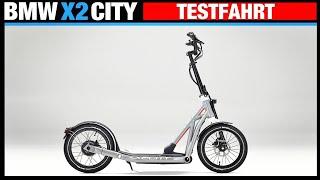 BMW X2 CITY die TESTFAHRT! Escooter für 2.399€, Elektroroller, Eroller, Review, Anleitung,Test (DEU)
