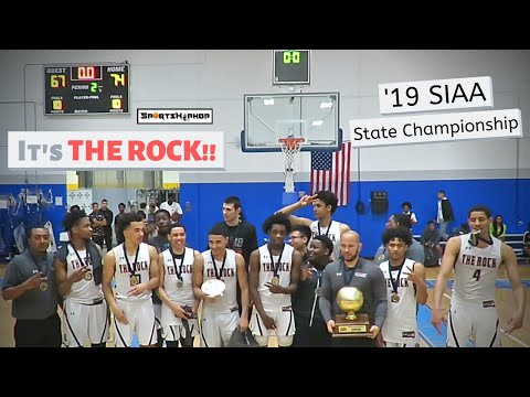 2019 SIAA State Championship:: The Rock vs. West Oaks Academy WAS A CLOSE ONE!!!
