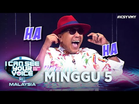 I Can See Your Voice Malaysia (Musim 3) - Minggu 5