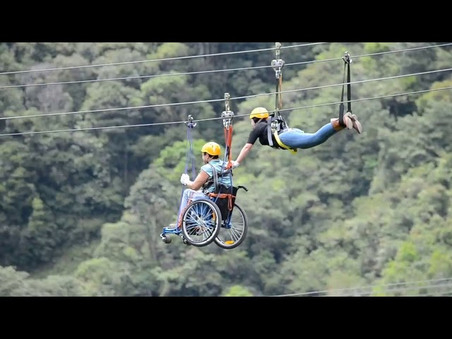 Adaptive Zip Line Adventure