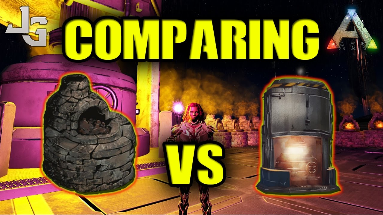 ark comparing industrial forge vs refining forge testing youtube. Black Bedroom Furniture Sets. Home Design Ideas