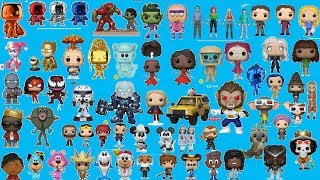 ALL NYCC 2018 EXCLUSIVES FUNKO POP