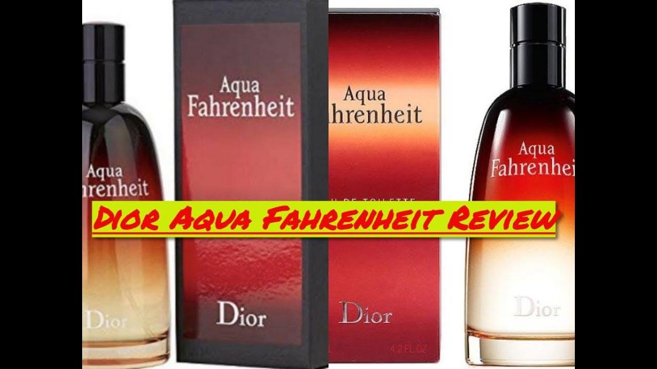 online Shop Bestellung Brandneu Christian Dior Aqua Fahrenheit for men (2011)