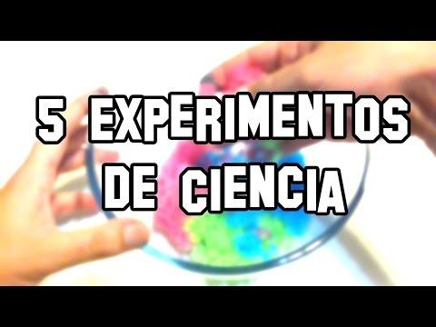Experimentos caseros para niños faciles y divertidos de hacer en casa  Proyectos de ciencia en casa