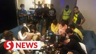 Wild drug-fuelled sex party botched by police