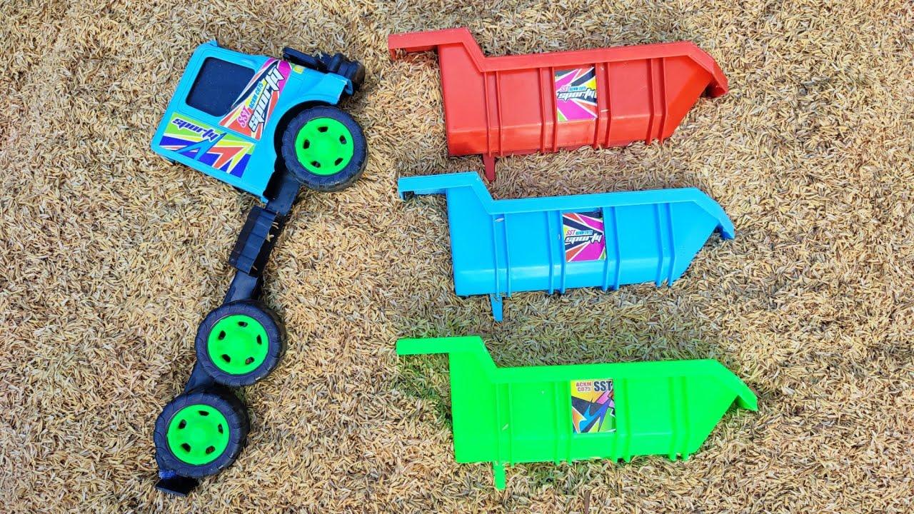 Mencari Mainan Mobil Mobilan Truk Oleng Penuh Mainan Tayo,Mobil Oleng,Truk Molen, Mobil Truk, Truk