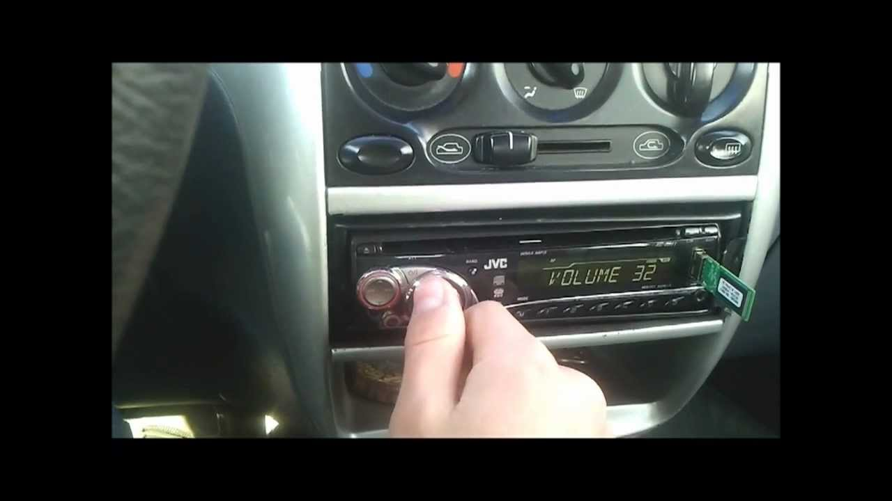 Daewoo Matiz proste car audio - YouTube