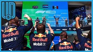 El piloto mexicano consiguió su segundo podio consecutivo y logra superar a Lando Norris en el campeonato de pilotos