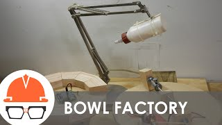 Segmented Bowl Factory - Stop Motion Woodworking