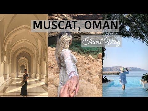 TRAVEL VLOG TO MUSCAT, OMAN part 1 | REGANA