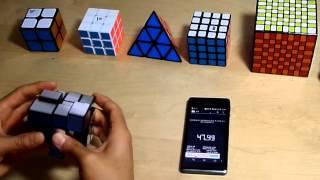 speedcubing 3x3 2x2 pyraminx mirror cube