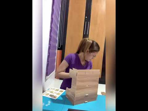 Unwrapping/ assembling wooden