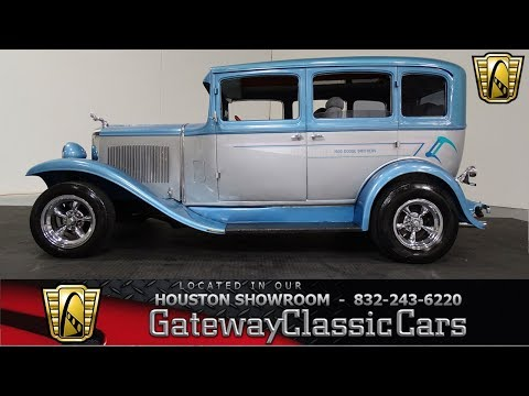 1930 Dodge 4 door Sedan Gateway Classic Cars #947 Houston Showroom