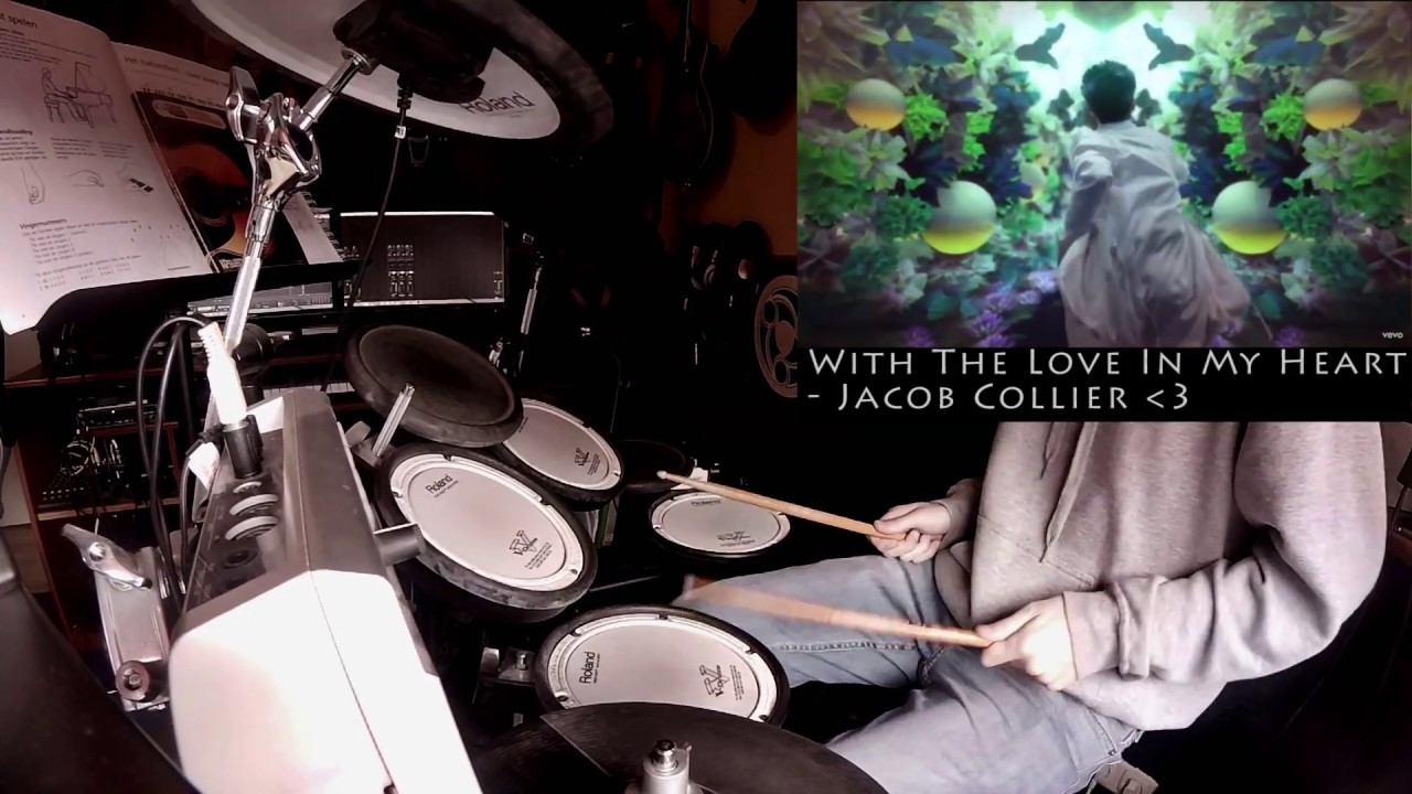 Drum Cover | Jacob Collier - With The Love In My Heart