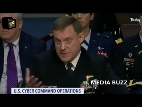 NSA Director Mike Rogers Testifies On Russian Interference In U.S. Elections & Cybersecurity 2/27/18