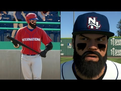 MLB 15 The Show - Road To The Show #1 - Creation, Showcase and Draft!