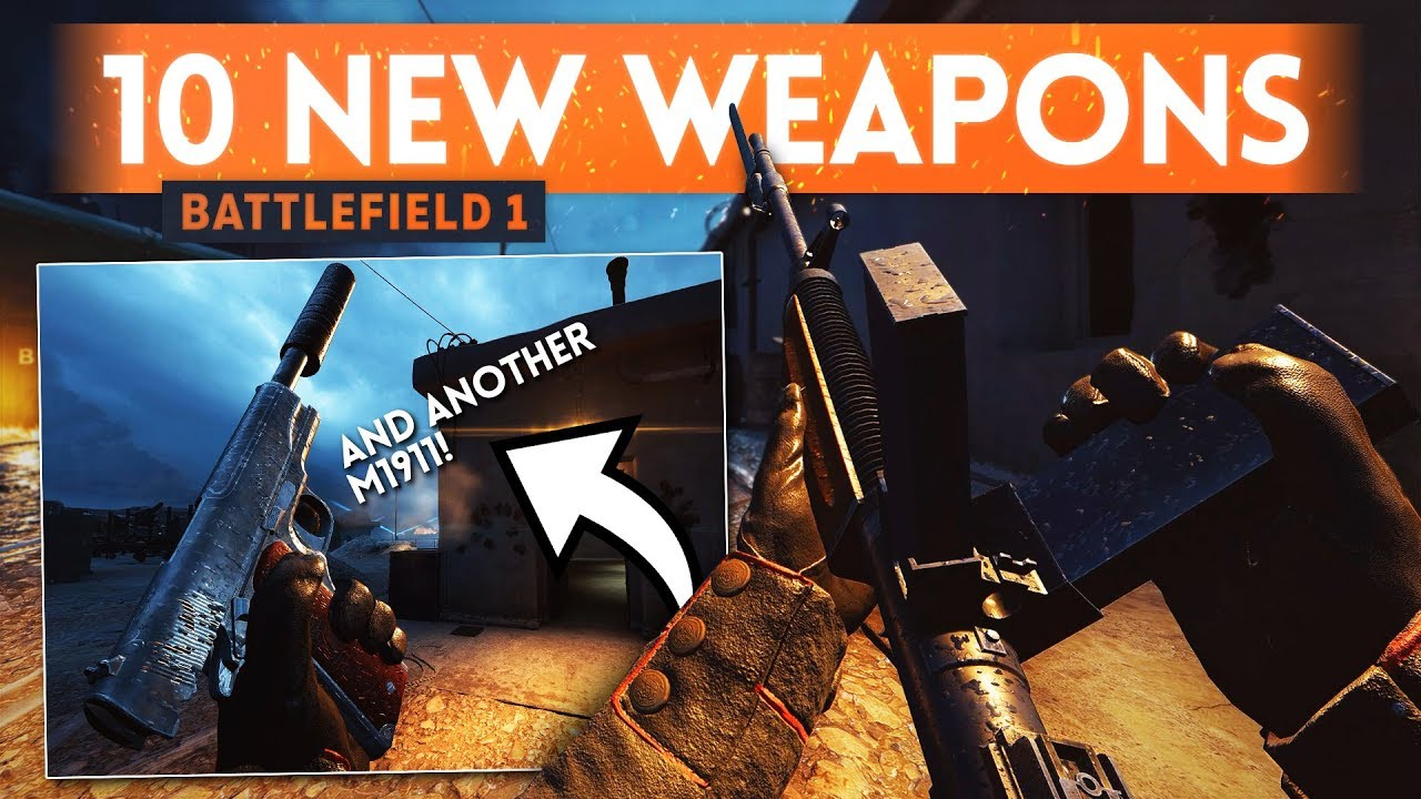 10 NEW PRIMARY WEAPONS! - Battlefield 1 June Patch Update (Shock Operations Game Mode)