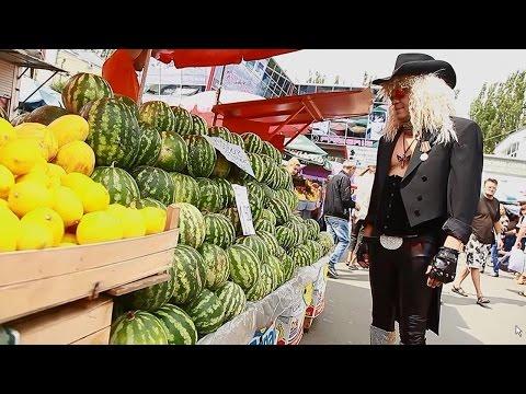 The Bazaar in Chisinau