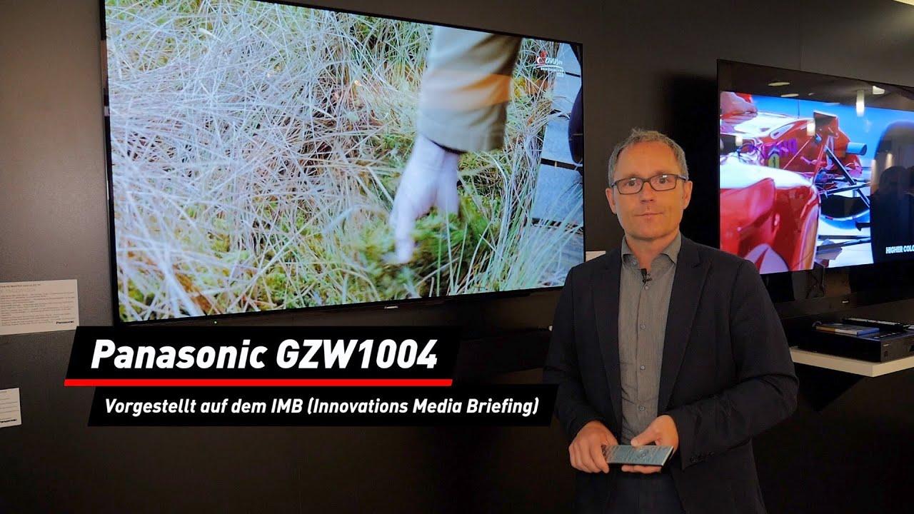 OLED-Fernseher: Panasonic GZW1004 auf dem IBM