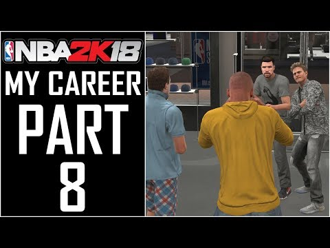 """NBA 2K18 - My Career - Let's Play - Part 8 - """"Selfies With Fans, Finally Friends With Security"""""""