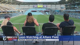 Loons Fans Watch United Telecast At Allianz Field