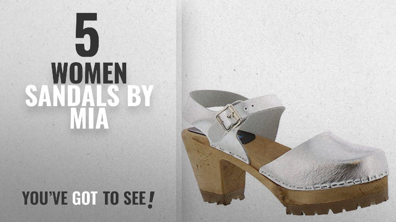 0f63128f22f Top 5 Mia Women Sandals  2018   MIA ABBA Women s Sandal 7 B(M) US Silver